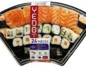 Assortiment de sushis yedo
