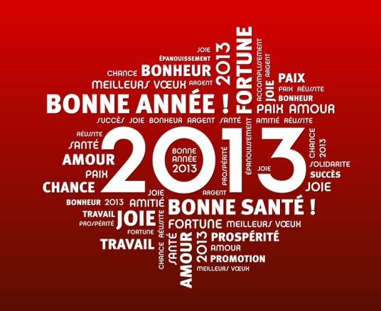 """Bonne anné"""" 2013 !"""