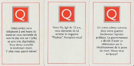 Cartes Questions Scrupules