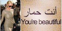 Vous êtes jolis/des ânes
