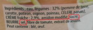 Douceur Dautomne Ingredients