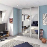 porte-de-placard-coulissante-miroir-argent-spaceo-250x67cm