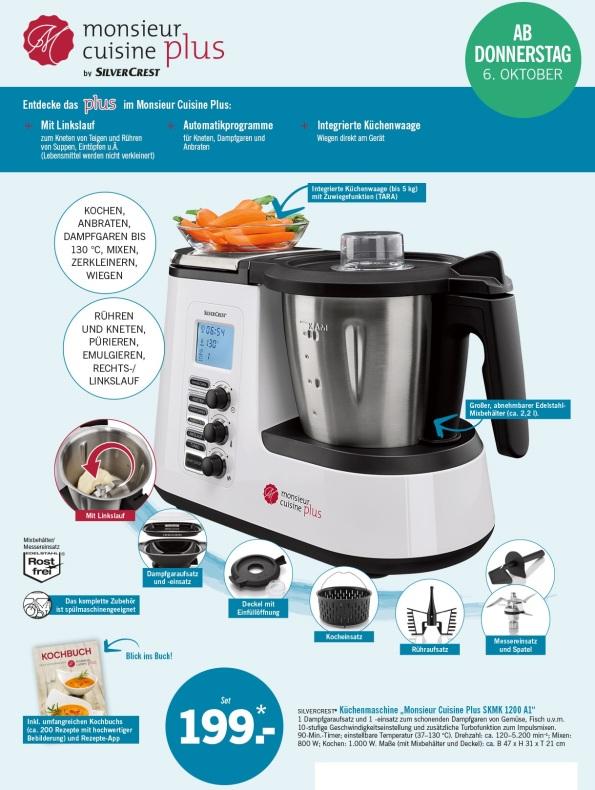 Robot cuiseur multifonction pas cher si si curtis zone - Opiniones monsieur cuisine plus ...