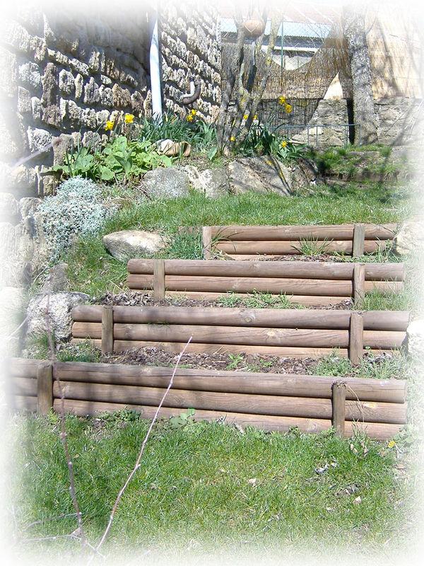 Sant bien tre curtis zone for Escalier dans un jardin