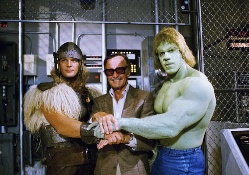 Thor, Stan Lee et Hulk
