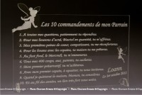 10 commandements Parrain