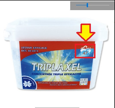 Triplaxel 47 lavages